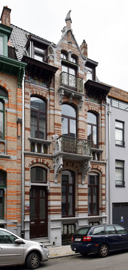 Rue Saint-Quentin 32, Bruxelles Extension Est (© APEB, photo 2016).