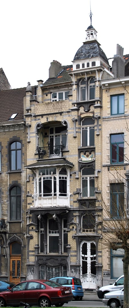 Avenue Louis Bertrand 43, Schaerbeek (© APEB, photo 2009).