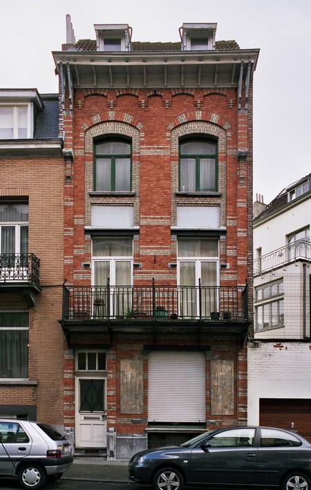 Rue des Éburons 31, Bruxelles Extension Est (© SPRB-BDU, photo APEB 2007).