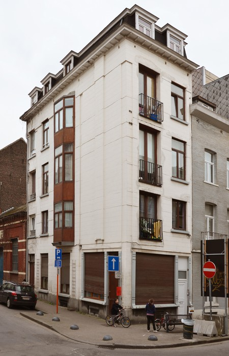 Rue Vanderlinden 98, Schaerbeek (© SPRB-BDU, photo APEB 2014).