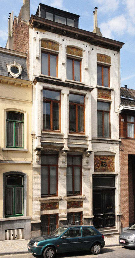 Rue de la Consolation 67, Schaerbeek (© SPRB-BDU, photo APEB 2012).