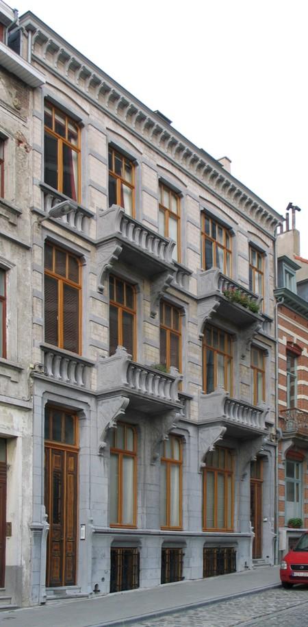 Jozef II-straat 148 en 150, Brussel Uitbreiding Oost (© APEB, foto 2005).