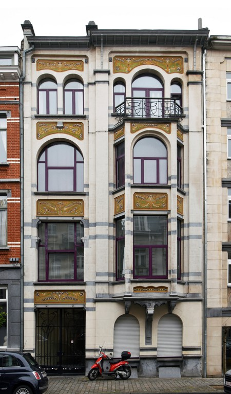 Rue Washington 127, Ixelles (© APEB, photo 2016).