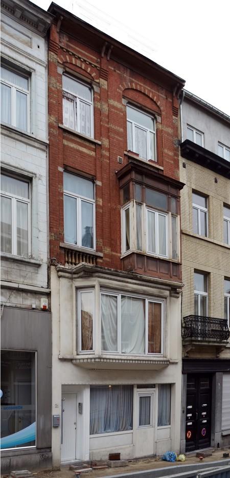 Rue des Éburons 21, Bruxelles Extension Est (© APEB, photo 2015).