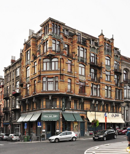 Rue Josaphat 271-273, 275-277 et avenue Louis Bertrand 53-61, Schaerbeek (© APEB, photo 2012).