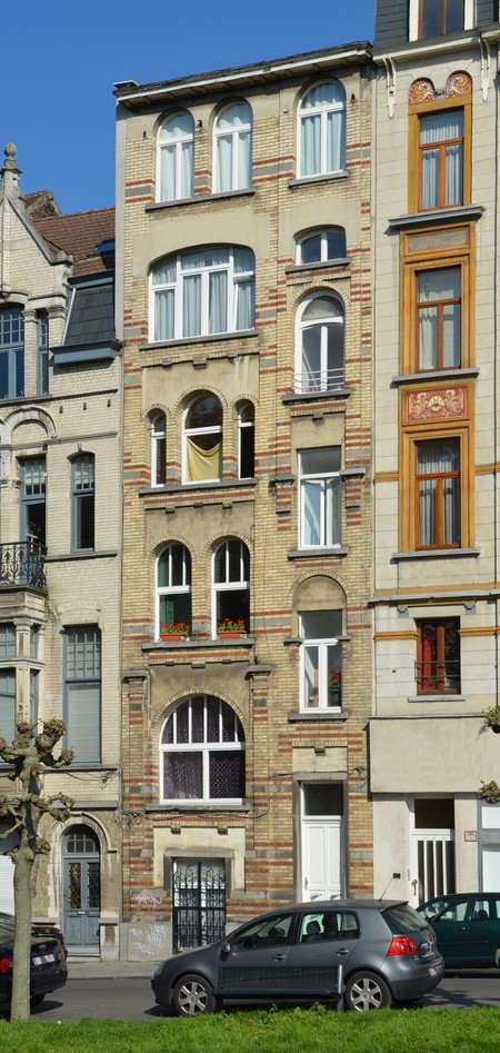 Avenue Louis Bertrand 92, Schaerbeek (© APEB, photo 2014).