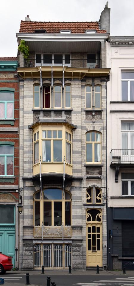 Rue Souveraine 52, Ixelles (© APEB, photo 2016).