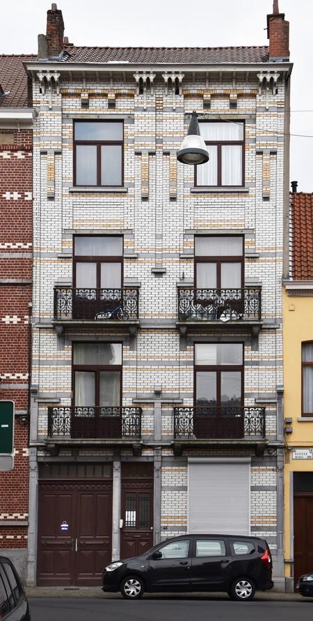 Rue Rasson 43-45, Schaerbeek (© APEB, photo 2016).