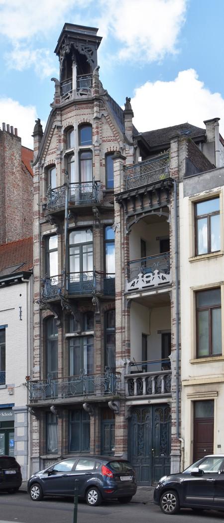 Clovislaan 85-87, Brussel Uitbreiding Oost (© APEB, foto 2016).