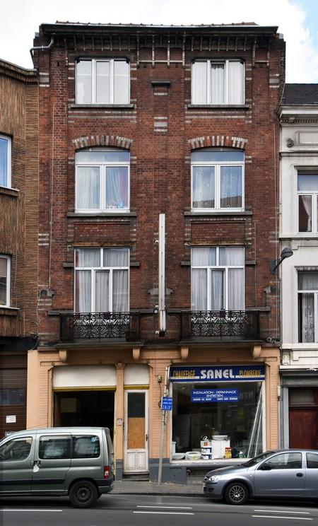 Chaussée de Louvain 282-284, Bruxelles Extension Est (© APEB, photo 2016).