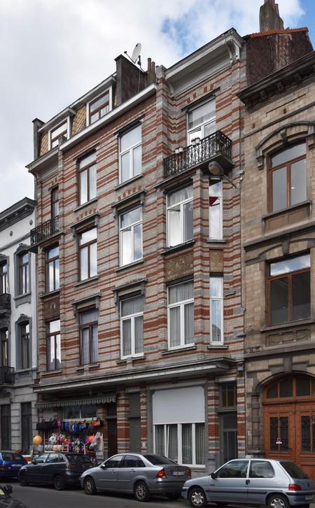 Rue des Coteaux 53-55 et 57-59, Schaerbeek (© APEB, photo 2016).