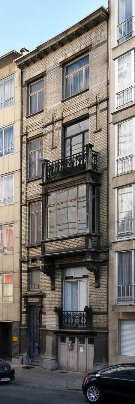 Rue des Aduatiques 9, Etterbeek (© APEB, photo 2016).