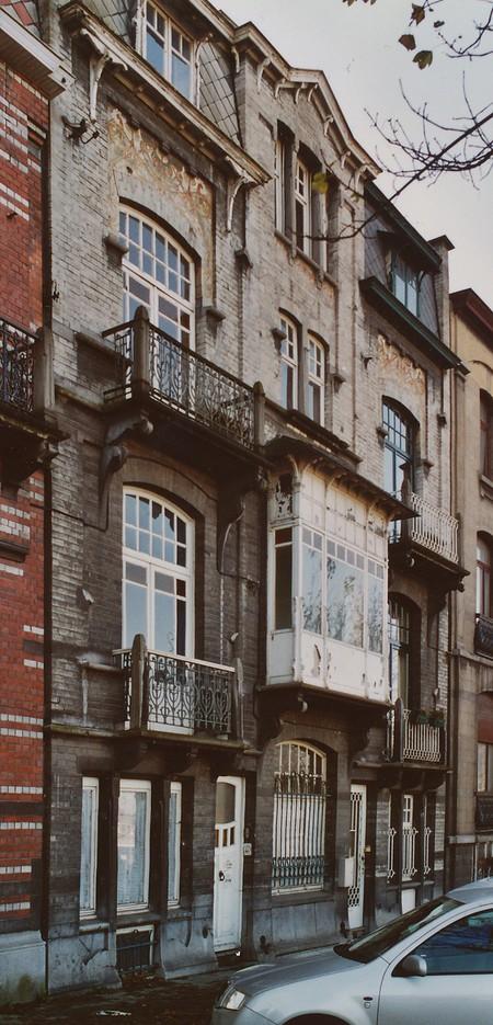 Boulevard des Déportés 34 et 36, Tournai (© APEB, photo 2002).