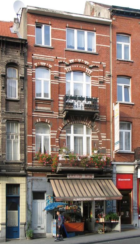 Chaussée de Louvain 237-239, Saint-Josse-ten-Noode (© APEB, photo 2000).
