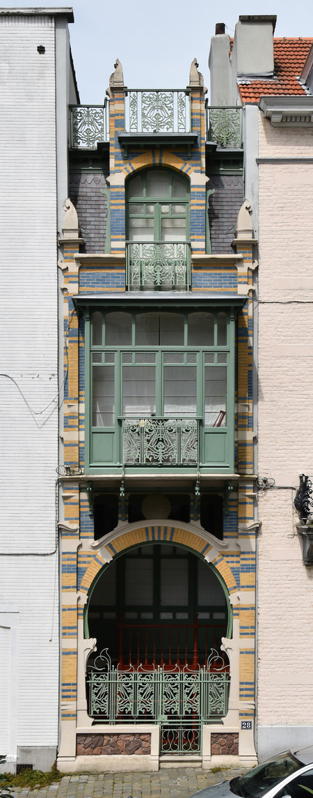 Rue Luther 28, Bruxelles Extension Est (© APEB, photo 2016).