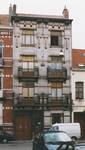 Rue Rasson 43-45, Schaerbeek (© APEB, photo 1999).