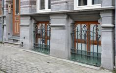 Rue Saint-Quentin 32, Bruxelles Extension Est, soubassement (© APEB, photo 2015).