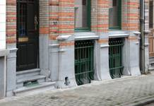 Saint-Quentinstraat 30, Brussel Uitbreiding Oost, onderbouw (© APEB, foto 2015).