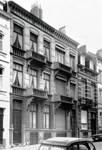 Rue Joseph II 148 et 150, Bruxelles Extension Est, vers 1975 (© KIK-IRPA, Bruxelles).