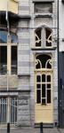 Rue Souveraine 52, Ixelles, porte (© APEB, photo 2016).