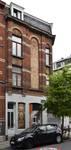 Rue Victor Lefèvre 61 et rue de Linthout 88, Schaerbeek, façade vers la rue Lefèvre (© APEB, photo 2016).