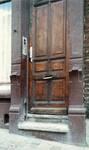Chaussée de Louvain 332-334, Bruxelles Extension Est, porte droite (© APEB, photo 2000).
