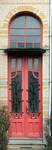 Boulevard Lambermont 150, Schaerbeek, porte (© SPRB-BDU, photo APEB 2013).