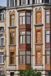 Louis Bertrandlaan 94-96, Schaarbeek, verdiepingen (© APEB, foto 2014).