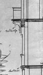 Rue Charles Quint 29, Bruxelles Extension Est, coupe longitudinale, détail de l'avant, AVB/TP 8806 (1902).