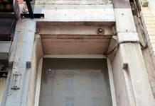 Chaussée de Louvain 229, Saint-Josse-ten-Noode, entrée des appartements (© APEB, photo 2016).