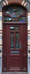Van Campenhoutstraat 51, Brussel Uitbreiding Oost, deur (© APEB, foto 2015).