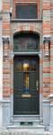 Saint-Quentinstraat 30, Brussel Uitbreiding Oost, deur (© APEB, foto 2015).