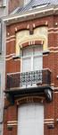 Victor Lefèvrestraat 55, Schaarbeek, verdieping, linkertravee (© APEB, foto 2016).