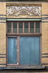 Rue Peter Benoit 2-4 et chaussée de Wavre 517-519, Etterbeek, premier étage, fenêtre gauche côté chaussée (© APEB, photo 2016).