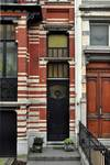 Avenue Clays 47, Schaerbeek, porte (© SPRB-BDU, photo APEB 2012).