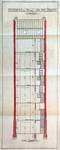 Avenue Chazal 25 et 23, Schaerbeek, coupe transversale, ACS/Urb. 46-25-27 (1914).