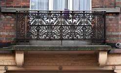 Chaussée de Louvain 282-284, Bruxelles Extension Est, balcon droit (© APEB, photo 2016).