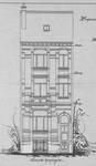 Rue Metsys 28, Schaerbeek, élévation, ACS/Urb. 192-28 (1902).