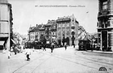 Chaussée de Haecht 398 à 382, Schaerbeek, vers 1910 (Collection Belfius Banque © ARB-SPRB).