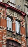 Rue Josaphat 269, Schaerbeek, troisième étage, travée droite (© APEB, photo 2013).