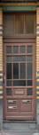 Rue Peter Benoit 2-4 et chaussée de Wavre 517-519, Etterbeek, porte des appartements côté rue (© APEB, photo 2016).