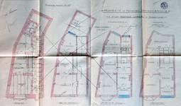 Avenue Chazal 27, Schaerbeek, plans des niveaux, ACS/Urb. 46-25-27 (1913).