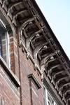 Chaussée de Louvain 282-284, Bruxelles Extension Est, corniche (© APEB, photo 2016).