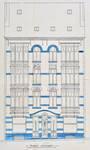 Avenue Chazal 17a-21, Schaerbeek, élévation avant, ACS/Urb. 46-17a-21 (1914).