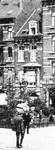 Chaussée de Haecht 384, Schaerbeek, détail d'une carte postale, vers 1910 (Collection Belfius Banque © ARB-SPRB).