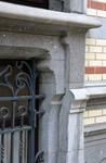 Rue Van Campenhout 51, Bruxelles Extension Est, fenêtre du demi sous-sol (© APEB, photo 2015).