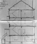Rue Metsys 28, Schaerbeek, coupe longitudinale, ACS/Urb. 192-28 (1902).