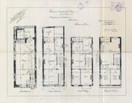 Rue Eugène Smits 23, Schaerbeek, plans des niveaux, ACS/Urb. 89-23 (1910).