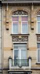 Boulevard Lambermont 146, Schaerbeek, travée gauche, niveaux supérieurs (© SPRB-BDU, photo APEB 2013).