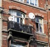 Chaussée de Louvain 229, Saint-Josse-ten-Noode, deuxième étage (© APEB, photo 2005).